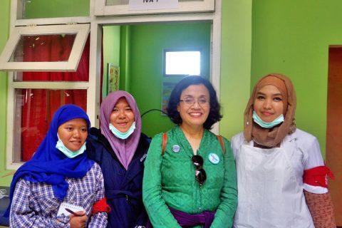 Nining Indroyono Soesilo, Kunjungi Tim Ekspedisi Nusantara Jaya (ENJ) Semarang di Karimun Jawa